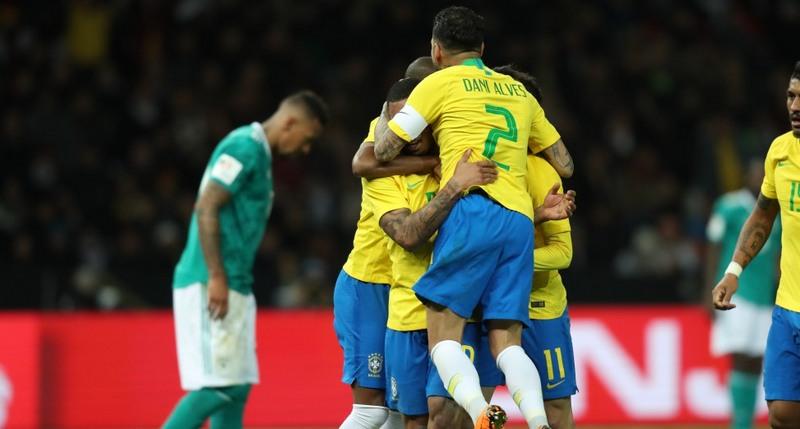 Brasil não devolve os 7, mas bate Alemanha por 1 a 0 em amistoso em Berlim