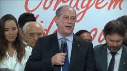 Ciro Gomes PDT o lança candidato a presidente