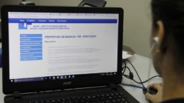 Candidatos podem acessar lista do concurso pelo internet (Foto: Marinho Ramos/Semcom)
