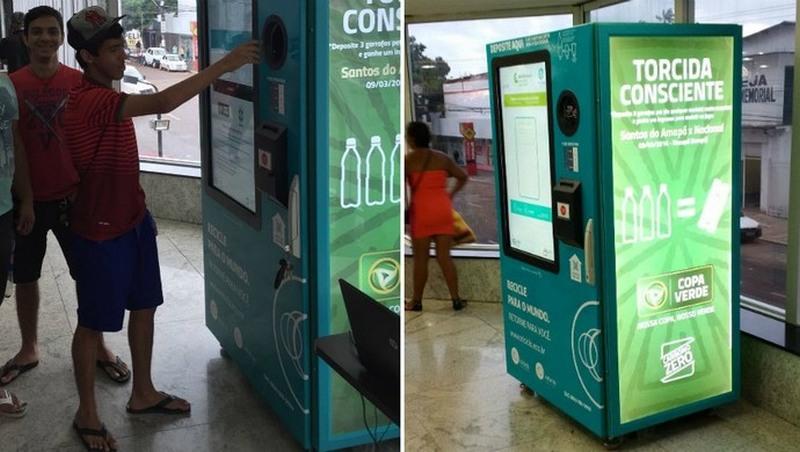 Garrafas PET valem ingressos para Manaus e Rio Branco pela Copa Verde