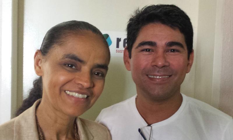 Marina Silva vem a Manaus para lançar candidato da Rede a governador