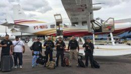 Equipe de policiais civis já está em Nova Olinda para investigar assassinatos (Foto: SSP-AM/Divulgação)