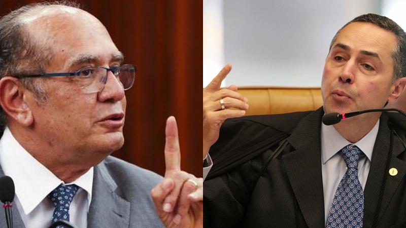 Gilmar Mendes e Luís Barroso batem boca mais uma vez no STF