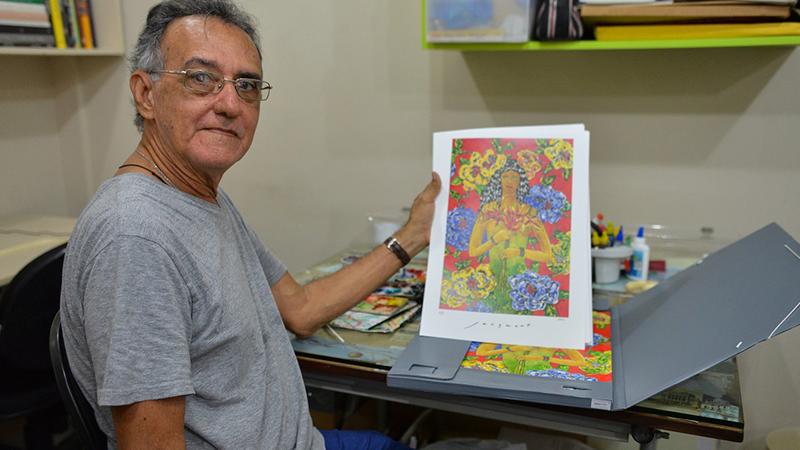 Jair Jacqmont, 50 anos de amor à arte