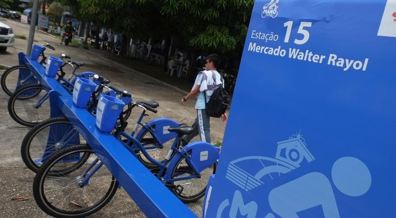 Manôbike é ampliado e ganha mais quatro estações de bicicletas em Manaus