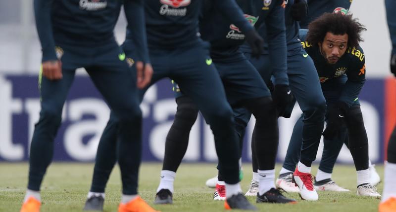 Sem Neymar, Tite testa Brasil força do Brasil sem referência no ataque