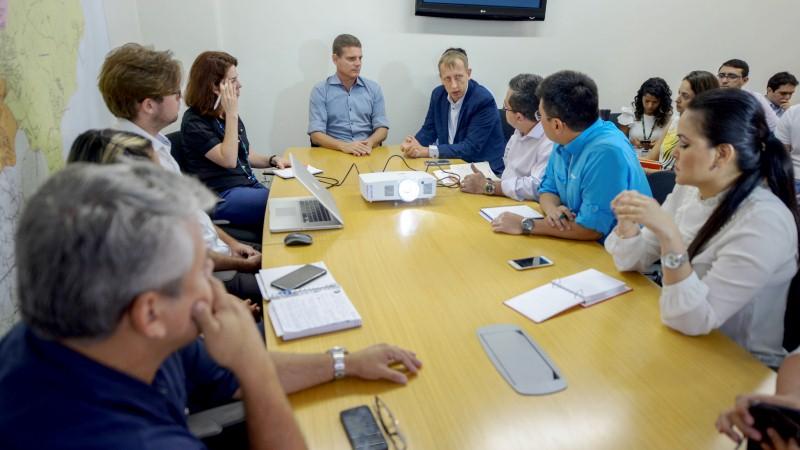 Marcos Rotta e tecnicos do Banco Mundial