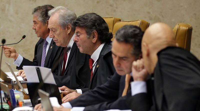 Ministros do STF declararam voto enfático pela transparência partidária (Foto: Antônio Cruz/ABr)