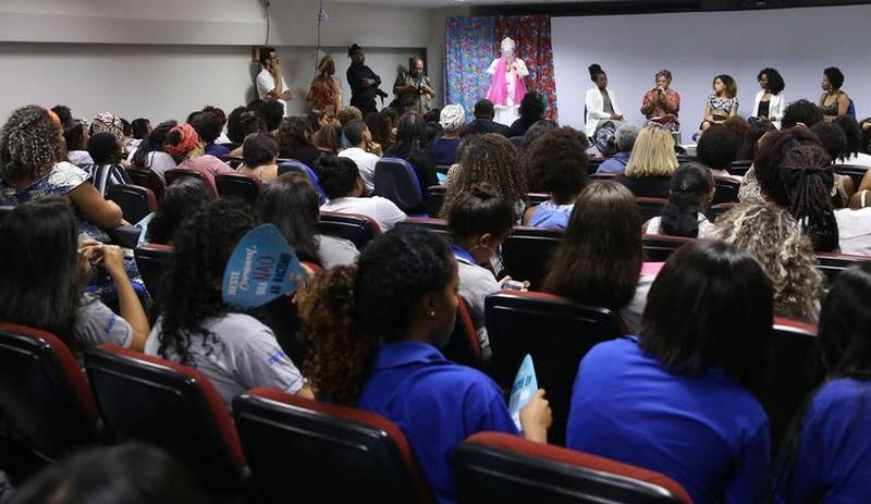 Mulheres da Fundação Palmares discutem representatividade política (Foto: Valter Campanato/ABr)