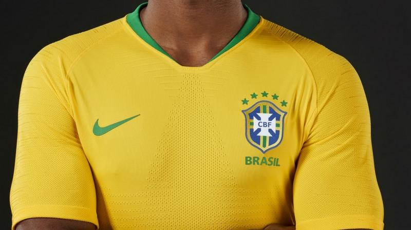 Inspirada em 1958 e 1970, Brasil terá camisa 'Ouro Samba' na Rússia