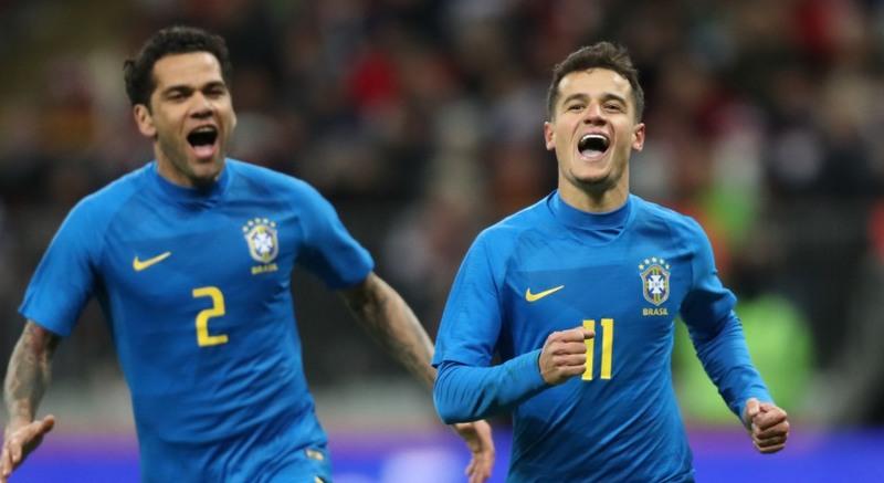Brasil deslancha no segundo tempo e goleia a Rússia em Moscou