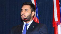 Platiny Soares foi incluído em processo sobre cassação de mandato por favorecimento na eleição de 2014, segundo o MPE (Foto: Platiny/Divulgação)