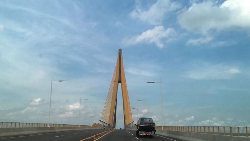 MP-A apura cumprimento de serviço de segurança patrimonial na Ponte Rio Negro (Foto: ATUAL)