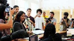 Renata Neder diz que crimes contra políticos é atentado à democracia (Foto: Fabiano da Silva/RACC/Reprodução)