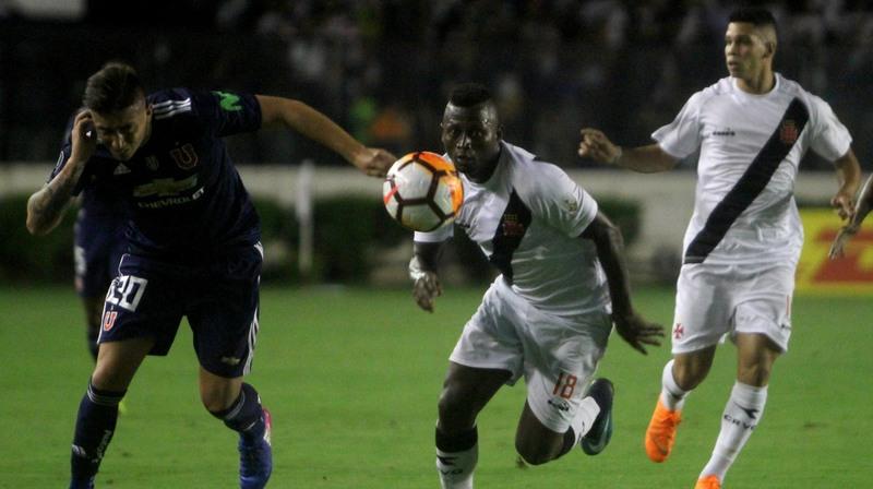 Vasco estreia com derrota na fase de grupos da Copa Libertadores