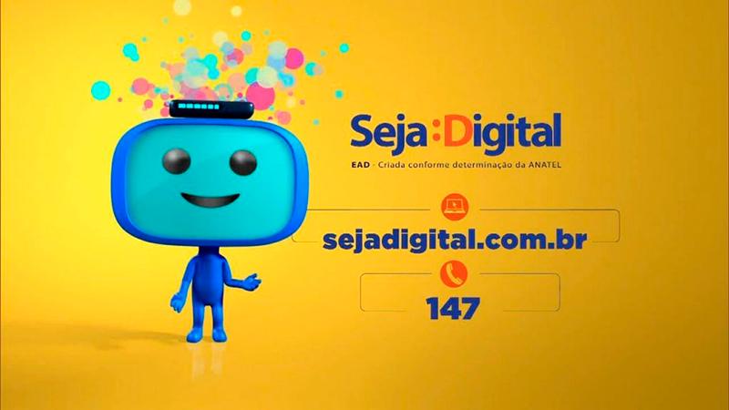Resultado de imagem para Seja Digital realiza mutirão de agendamento e instalação gratuita  de conversor e antena digital