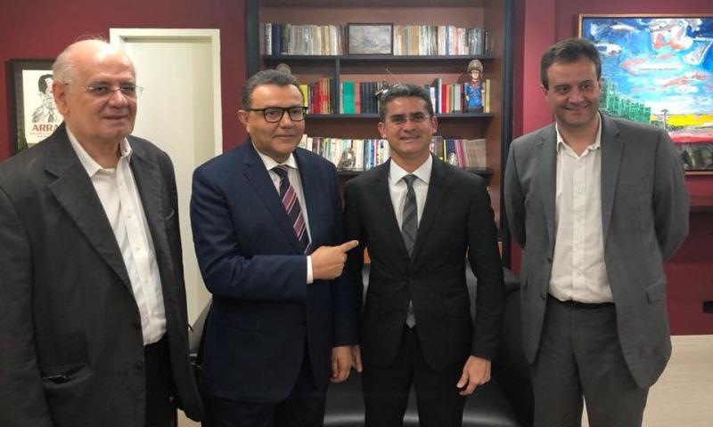 Serafim Corrêa, Carlos Siqueira, David Almeida e Marcelo Serafim