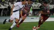 Vasco e Fluminense fizeram o clássico do Carioca nessa quarta-feira. Empate deixou Vasco na vice-liderança do grupo (Foto: Paulo Fernandes/Vasco)