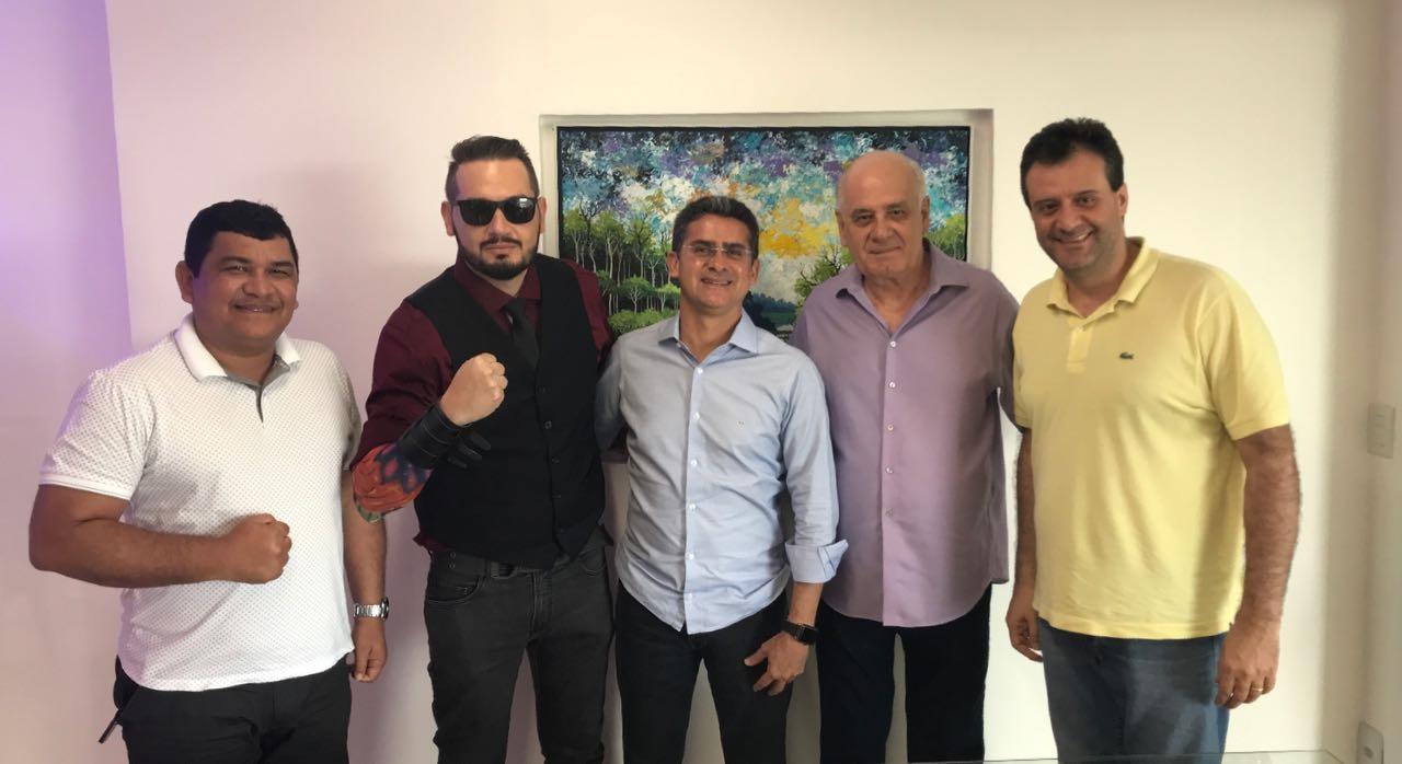 'Na quinta será o ato de filiação dele', diz Marcelo Serafim sobre David Almeida