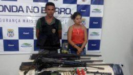 Casal Ilcemar e Daiane integram quadrilha de 'piratas' em Coari, segundo promotor do Ministério Público (Foto: MP-AM/Divulgação)