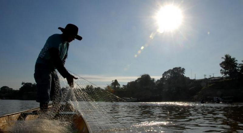 Seguro-Defeso beneficia pescadores artesanais em todo o Amazonas (Foto: INSS/Atual)