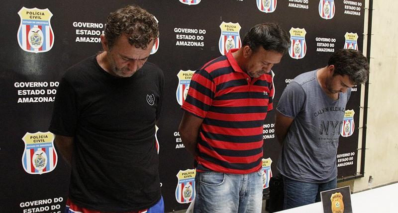 Suspeitos de envolvimento em 80 assassinatos no Ceará são presos no Amazonas