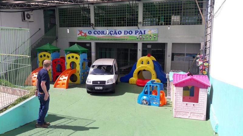 Em Manaus, abrigo obtém reconhecimento nacional por assistência a crianças