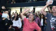 Professores rejeitaram proposta do governo de aumento salarial. Pela manhã, protestaram na Assembleia legislativa (Foto: ATUAL)