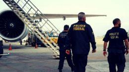 Agentes federais fizeram busca e apreensão em vários locais de Boa Vista, em Roraima, nesta terça-feira (Foto: PF/Divulgação)