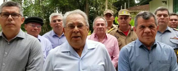 Amazonino grava vídeo institucional de apoio a Bosco Saraiva