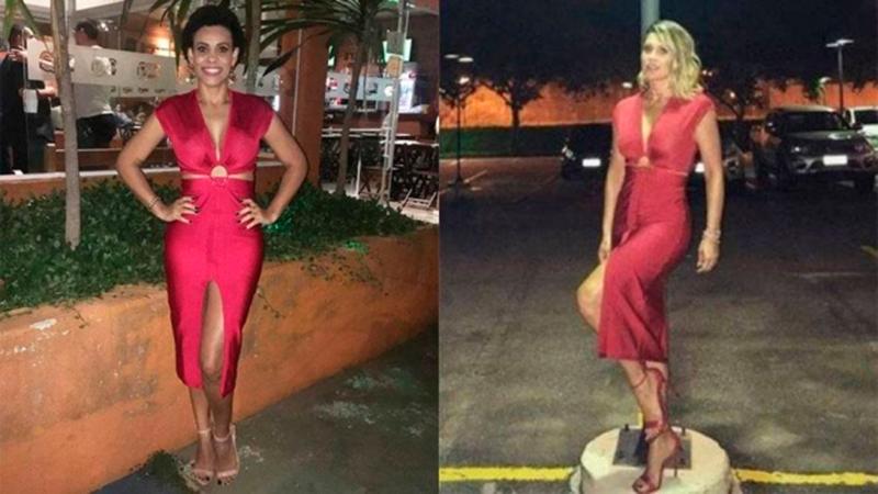 Após pedido, Flávia Alessandra empresta vestido para fã usar em aniversário