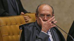 Gilmar Mendes criticou a imprensa ao votar a favor do habeas corpus preventivo do ex-presidente Lula (Foto: José Cruz/ABr)