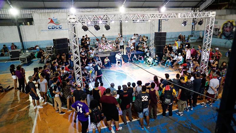 Espetáculo 'O hip hop é o lugar' leva intervenções artísticas ao Teatro Amazonas