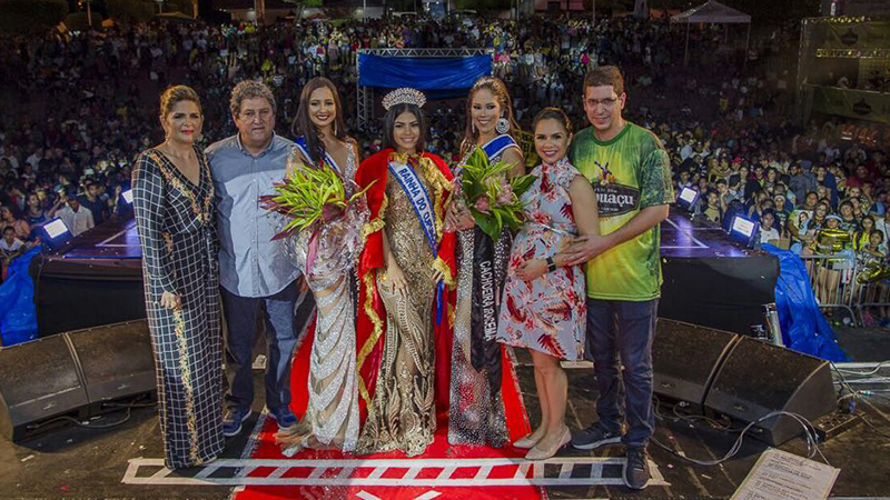 Jéssica Nery, da Cachoeira da Onça, foi eleita Rainha da Festa do Cupuaçu