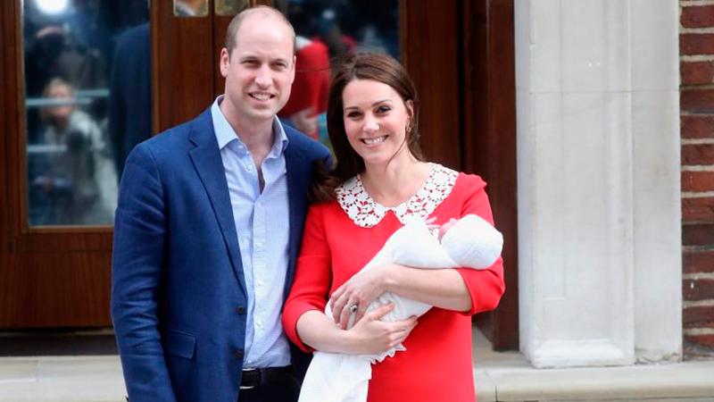 Louis Arthur Charles é o nome do terceiro filho de Kate Middleton e William