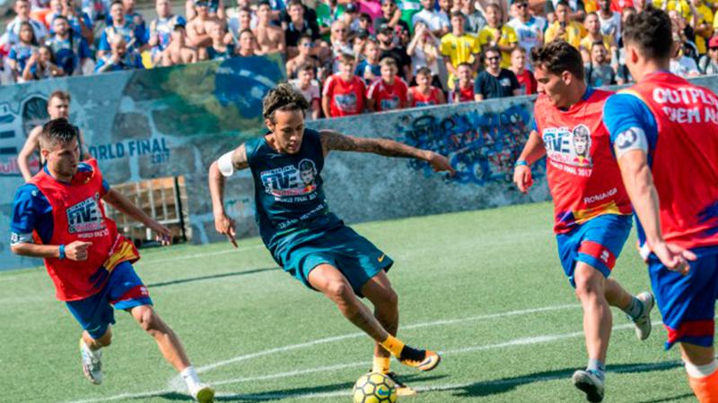 Com homenagens aos gigantes da Europa, Neymar Jr's Five chega à Arena da Amazônia