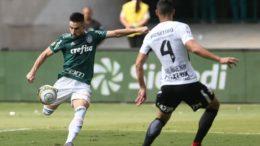 Jogadores do Palmeiras se recusaram a receber medalha de vice do Paulistão (Foto: Cesar Greco/Ag Palmeiras/Divulgação)