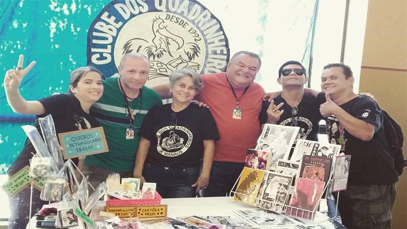 Clube dos Quadrinheiros inaugura exposição no 'Povos da Amazônia'