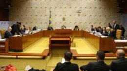 Projeto de lei estabelece que apenas plenário do STF pode suspender lei (Foto: Valter Campanato/Agência Brasil)