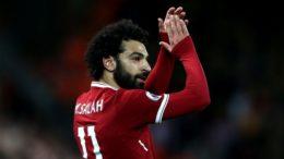 Salah fez dois gols na goleada do Liverpool sobre a Roma, nesta terça, pela semifinal da Liga dos Campeões (Foto: Uefa/Divulgação)