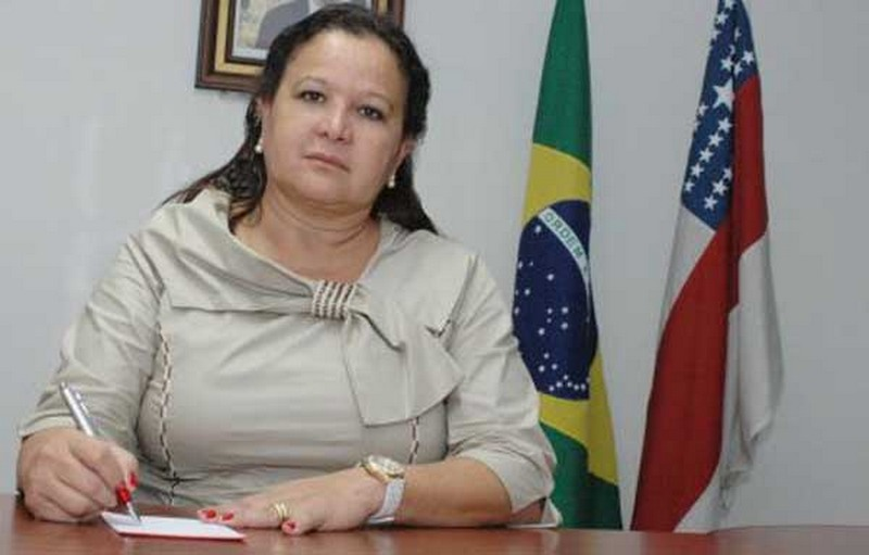 Waldívia Alencar foi presa temporariamente na manhã desta quarta-feira na Operação Concreto Armado (Foto: Secom)