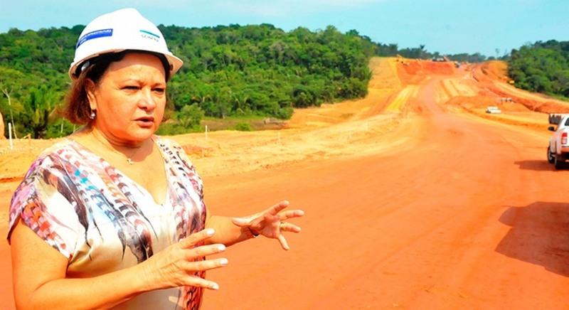 Waldívia Alencar foi secretária de infraestrutura em três governos no Amazonas (Foto: Alfredo Fernandes/Secom)