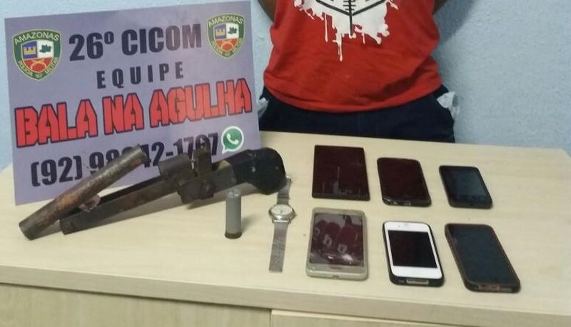 Vítima de roubo usa localizador de celular para encontrar assaltante