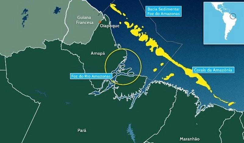 Cientistas mapeiam corais em área de exploração de petróleo no Rio Amazonas