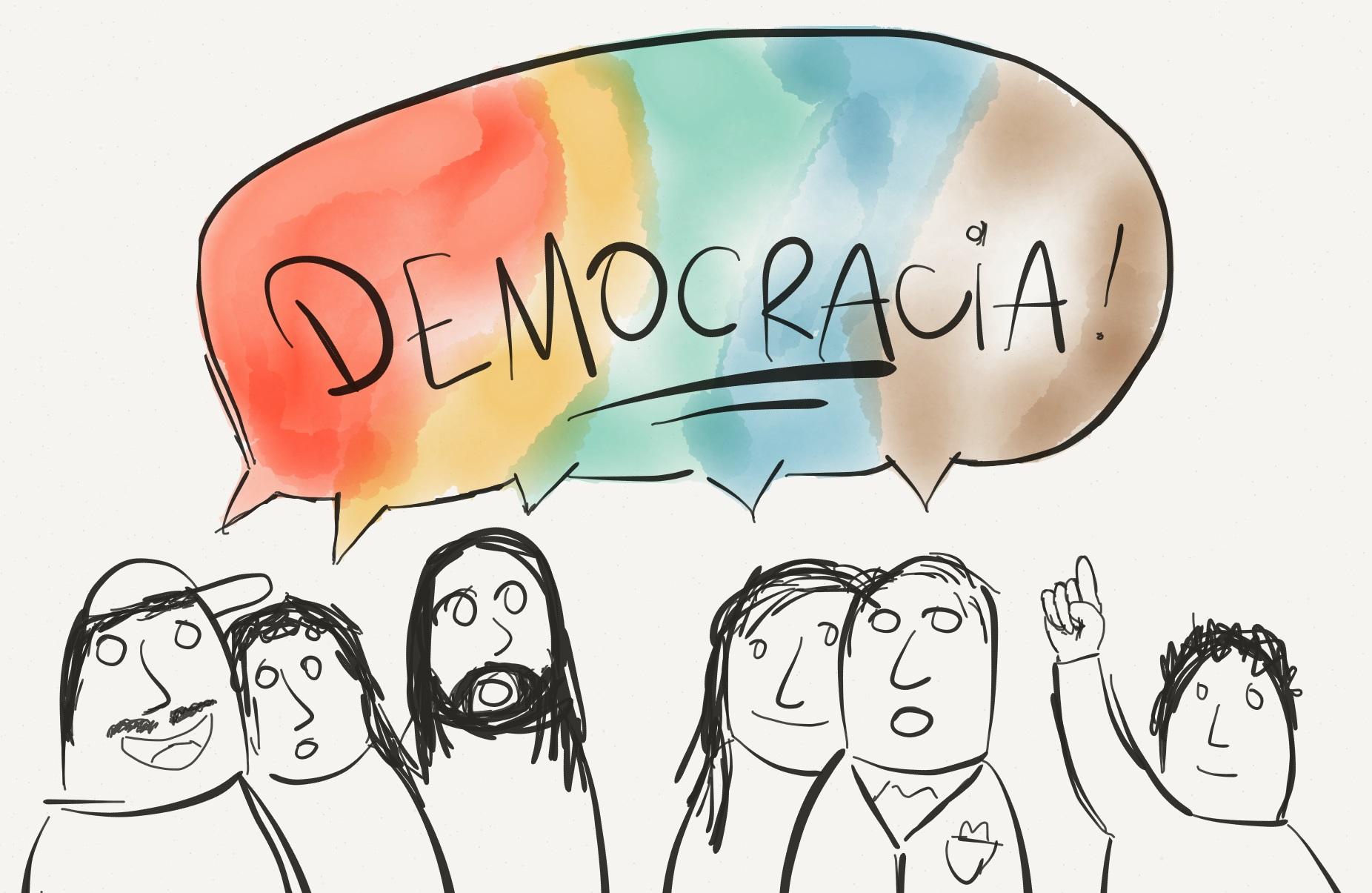 A ilusória democracia brasileira e as suas consequências