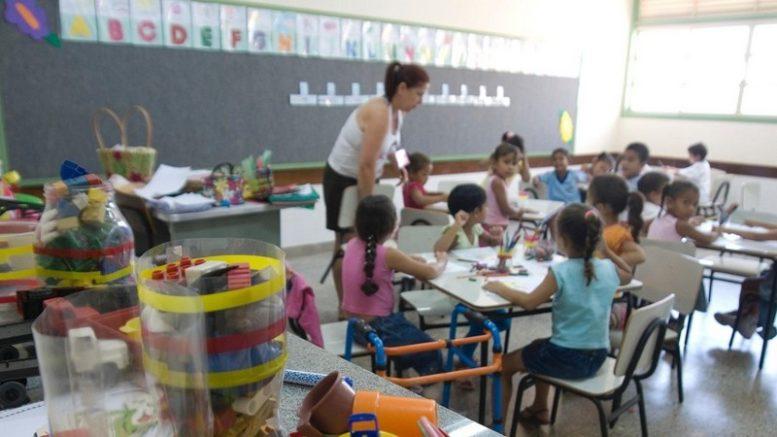 Relatório do PNE mostra diferenças de inclusão de crianças na escola conforme a região, cor e raça (Foto: Agência Brasil)