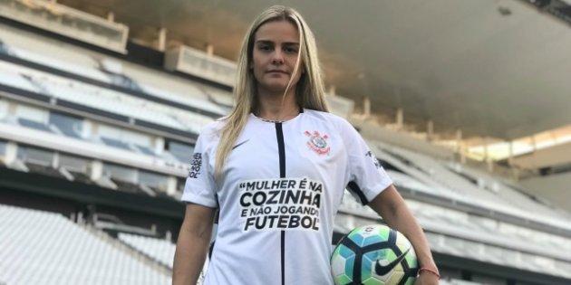 Corinthians cria campanha para combater machismo no futebol