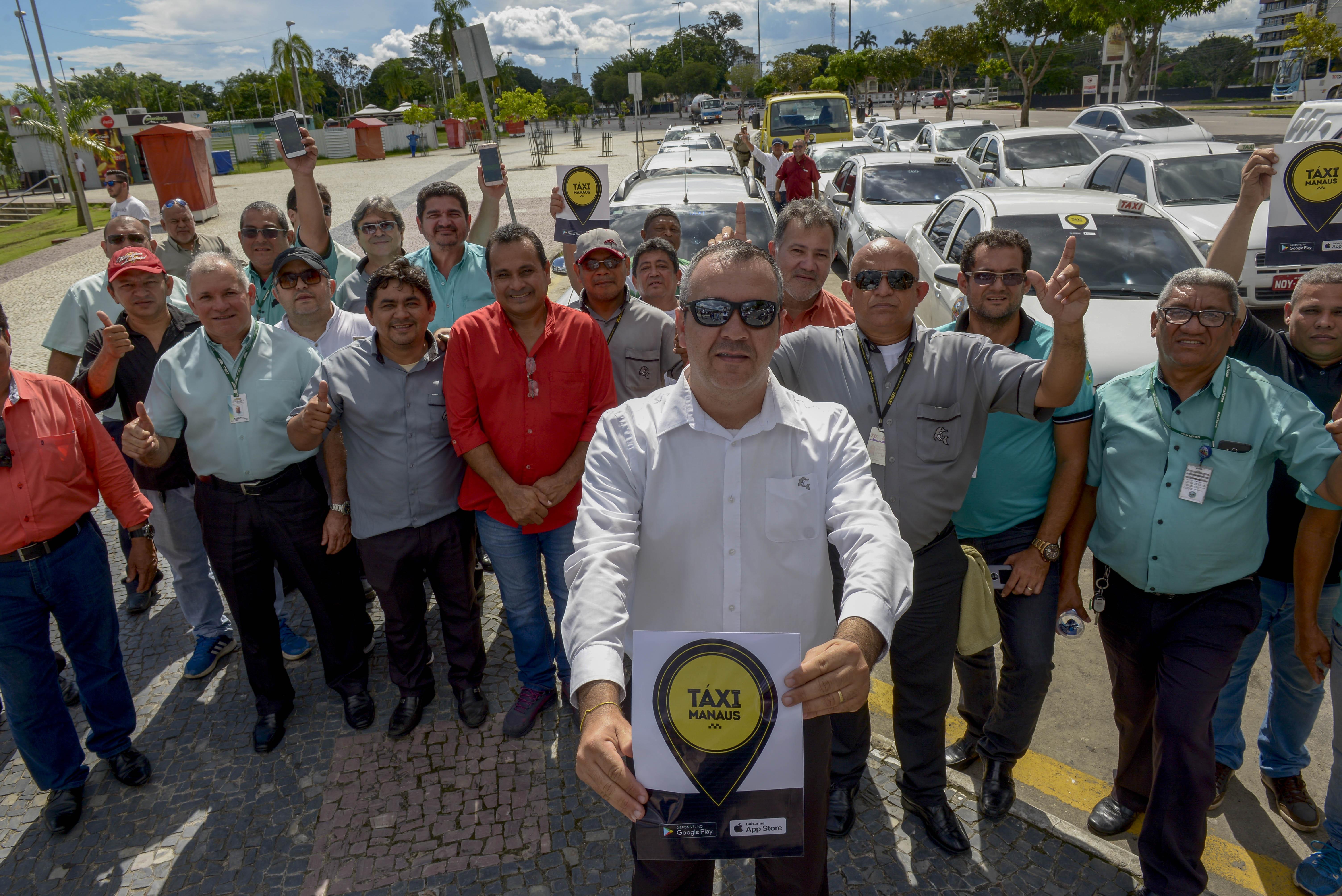 Em Manaus, aplicativo é lançado a usuários de táxi