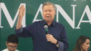 Arthur não recepciona vice-presidente dos EUA e critica visita a Manaus