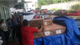 Urnas foram instaladas na Unip para processo de votação dos advogados (Foto: OAB-AM/Divulgação)